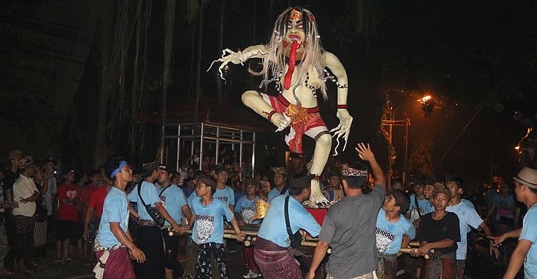 balinese monster ogoh ogoh
