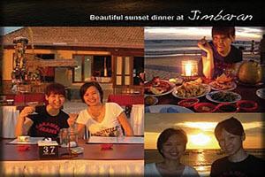 Jimbaran dinner