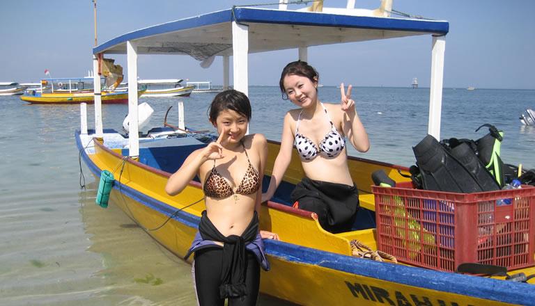bali water sport guest