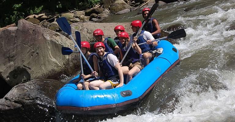 ubud ayung river rafting