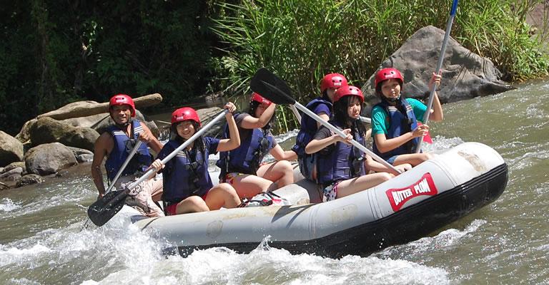 ubud river rafting