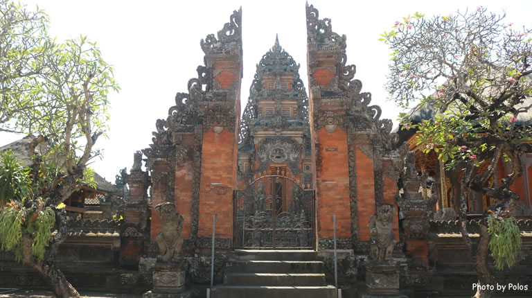 Batubulan Village Temple